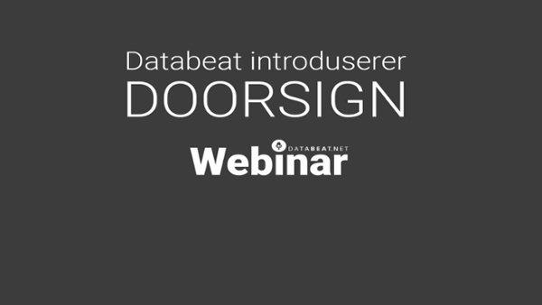 Databeat Doorsign Webinar