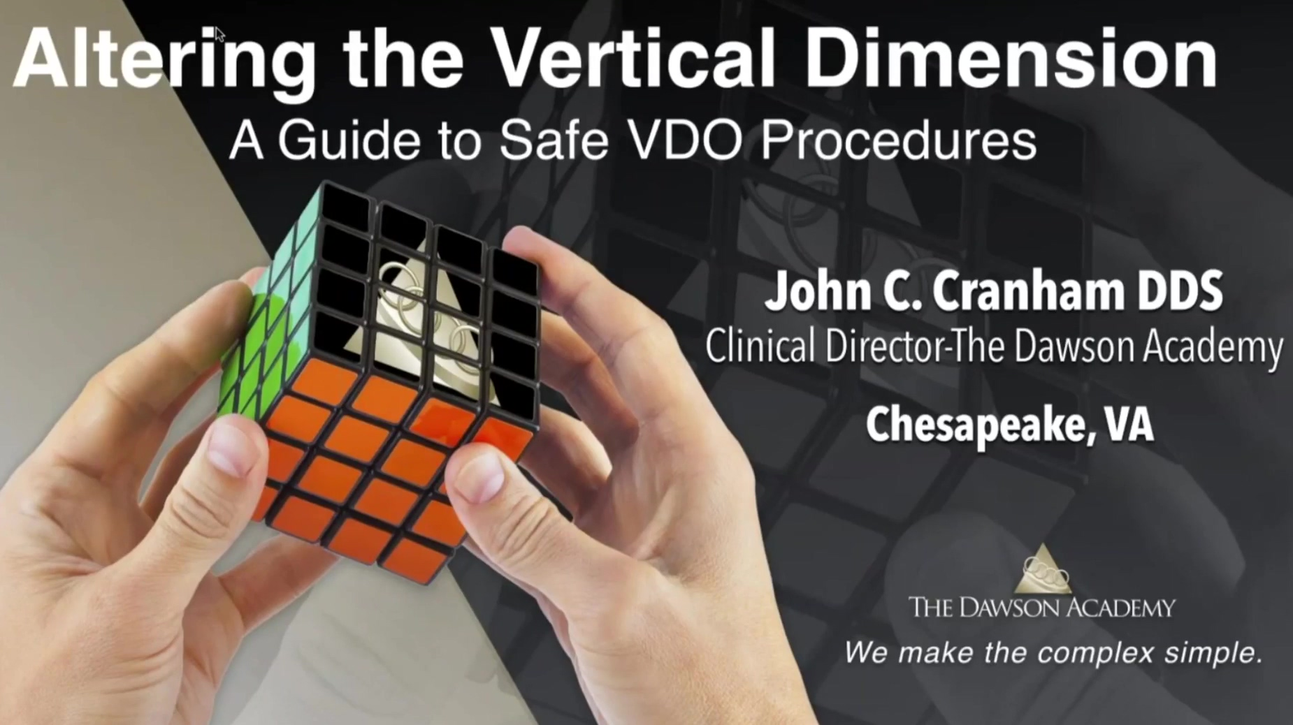 Altering the Vertical Dimension - A Guide to Safe VDO Procedures
