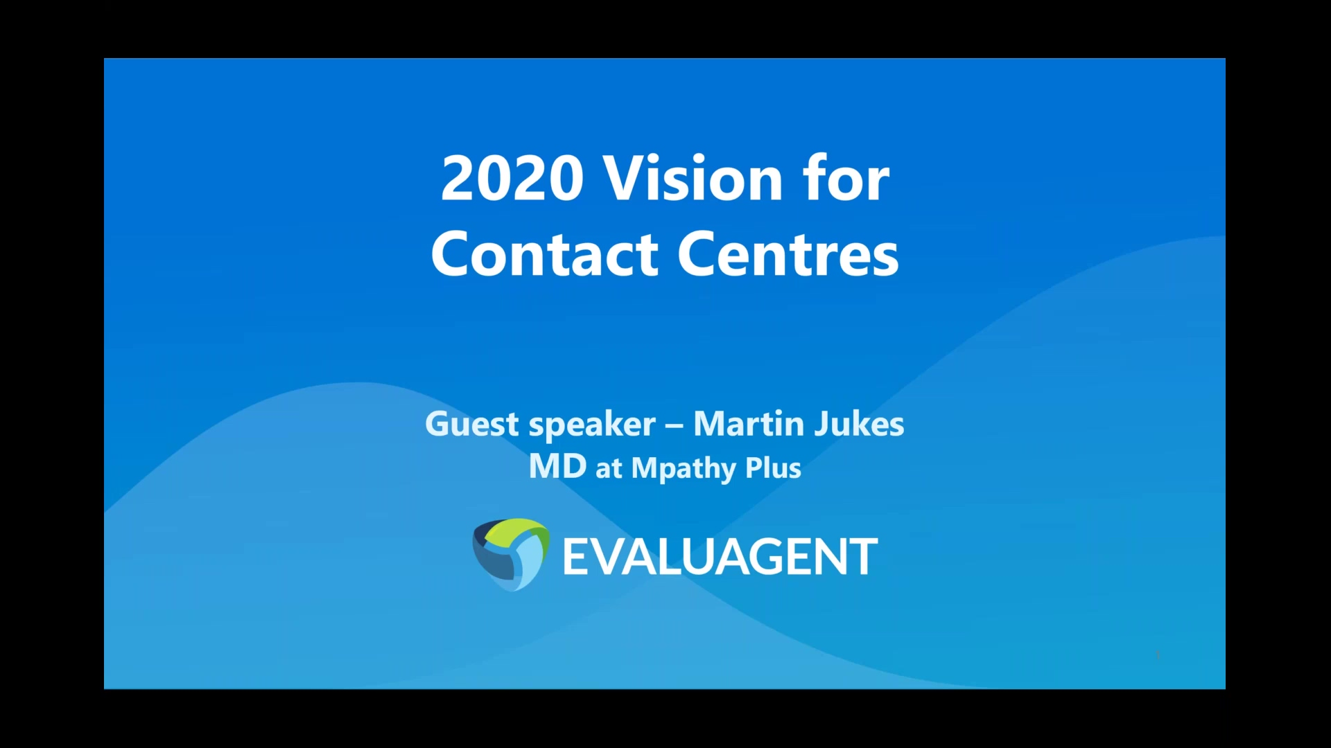 2020 Vision with Martin Jukes