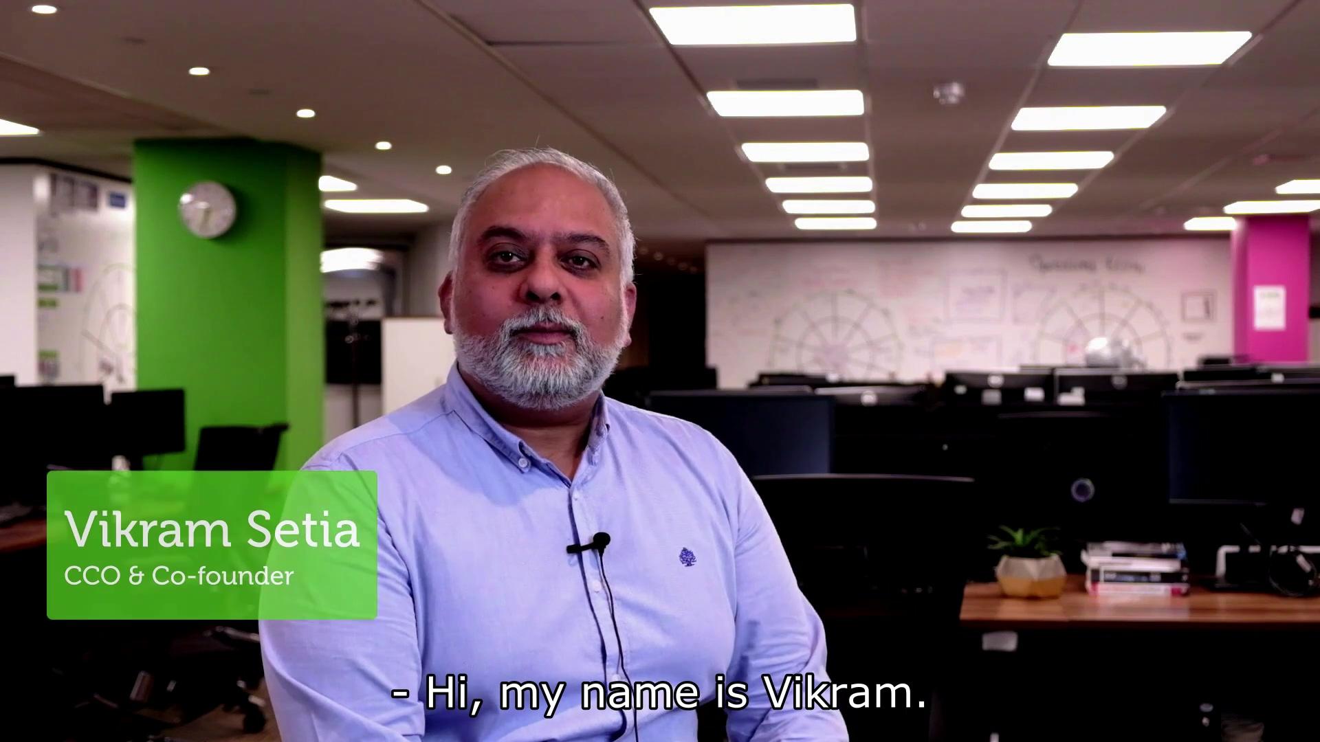 Vikrams intro subtitles