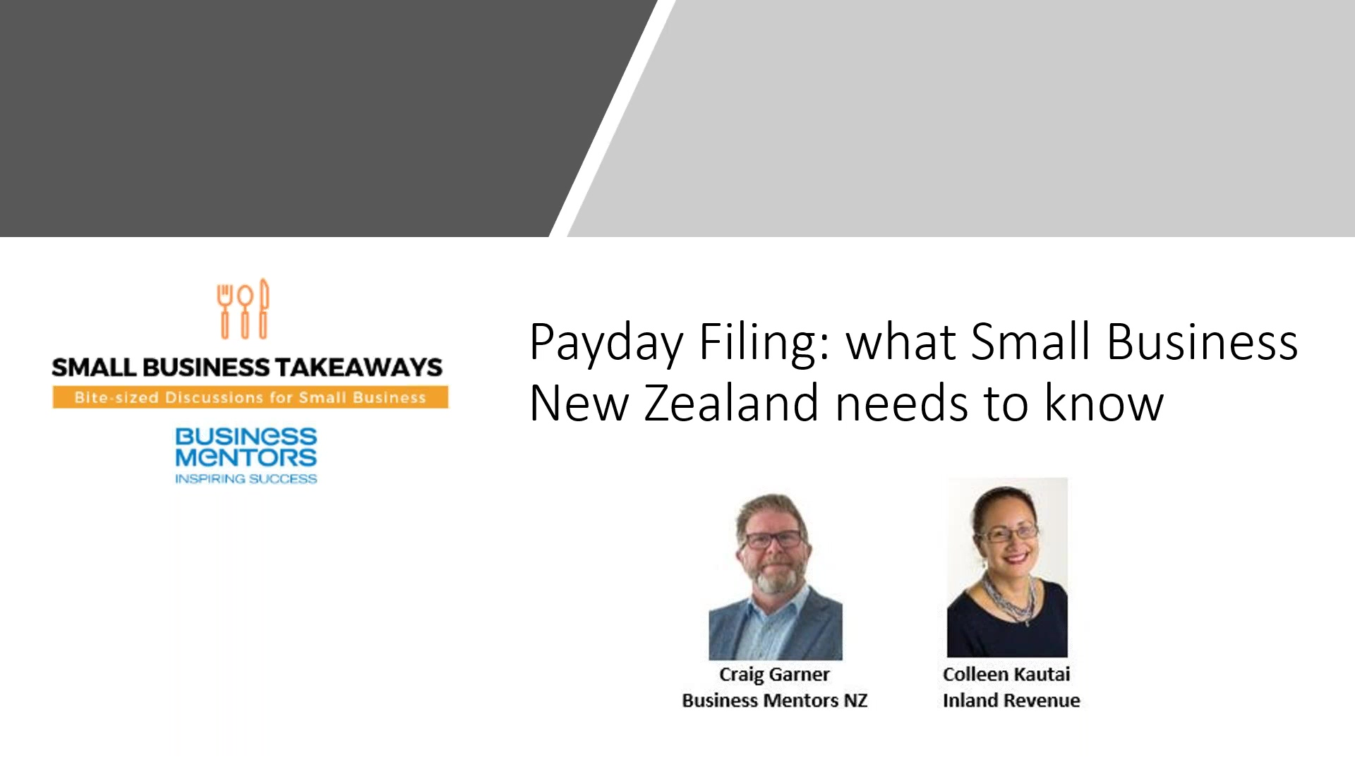 Business Mentors NZ Small Business Takeaways_ Payday Filing - what Small Business New Zealand needs