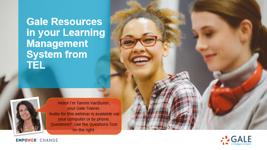 Gale Resources in your Learning Management System from TEL Thumbnail