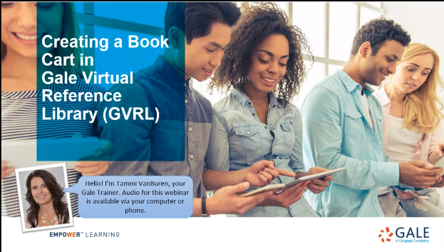 Creating a Book Cart in Gale Virtual Reference Library Thumbnail