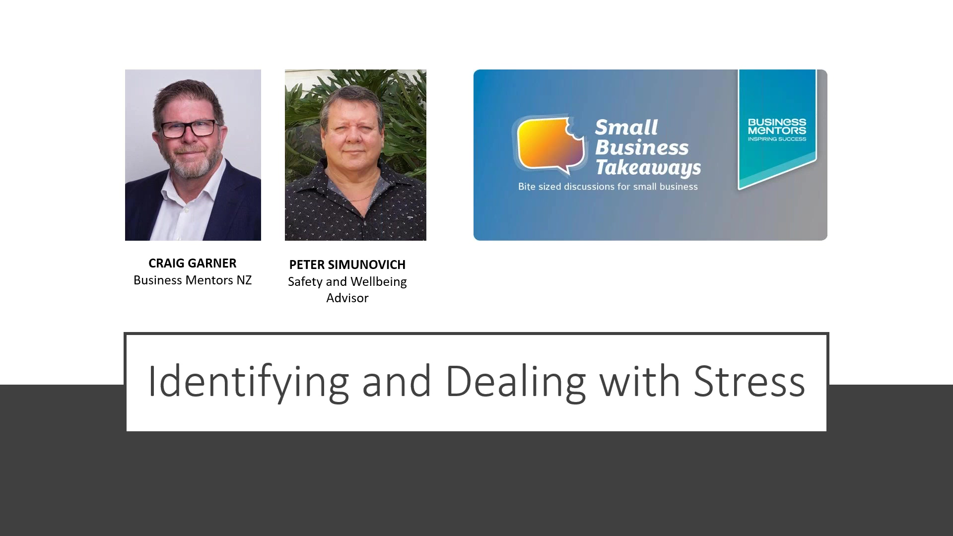 Business Mentors NZ Small Business Takeaways_ Identifying and Dealing with Stress-2