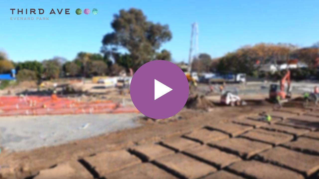 Live Third Avenue - Construction Progress Aug-Sep 2019 (full slab pour)