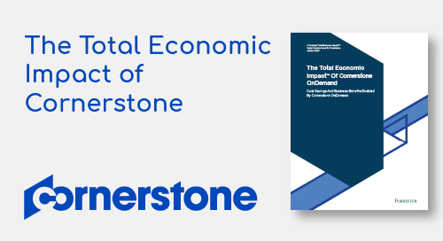 The Total Economic Impact of Cornerstone