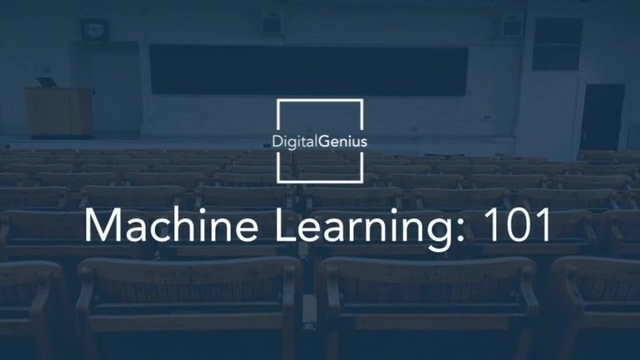 Webinar_ Machine Learning 101
