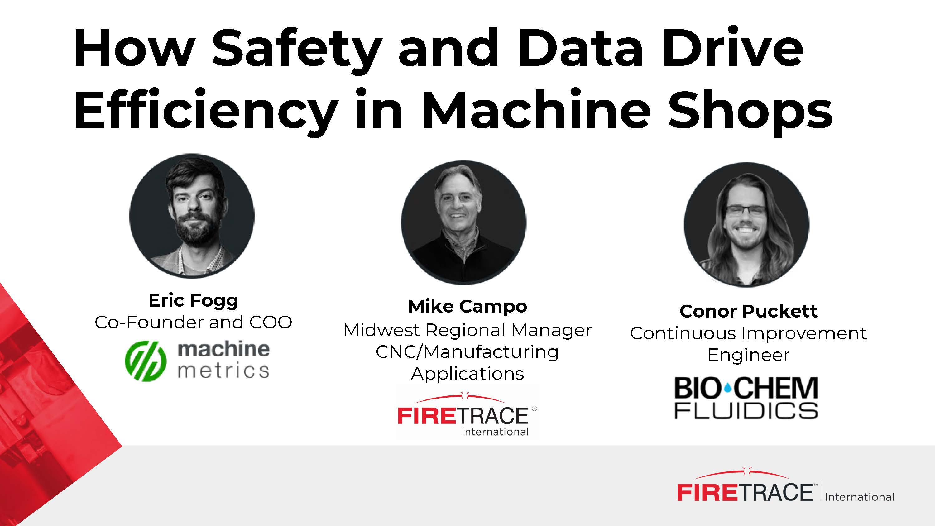 How Safety and Data Drive Efficiency in Machine Shops