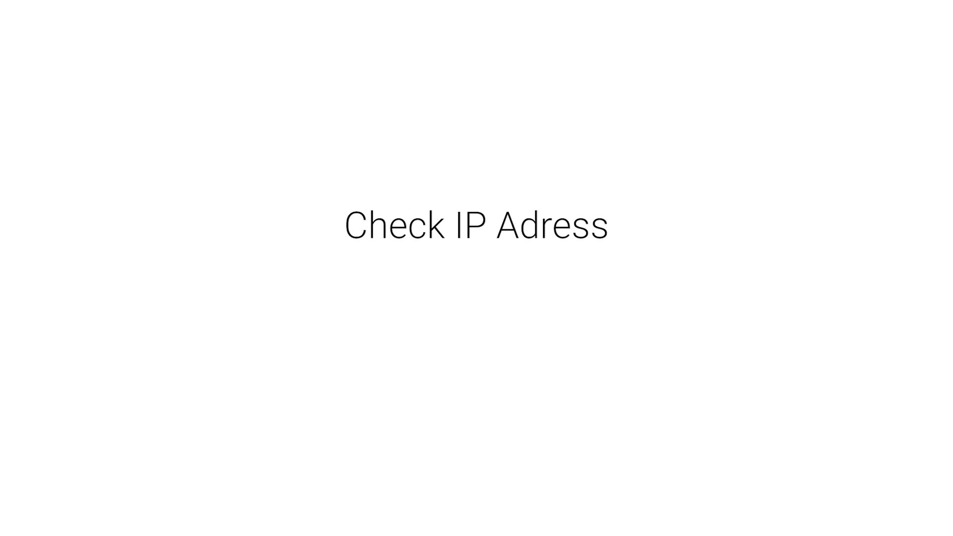 14_Check_IP_Adress