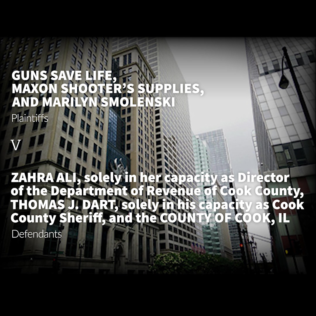 Fighting the Cook County Firearms and Ammo Tax Oral Arguments