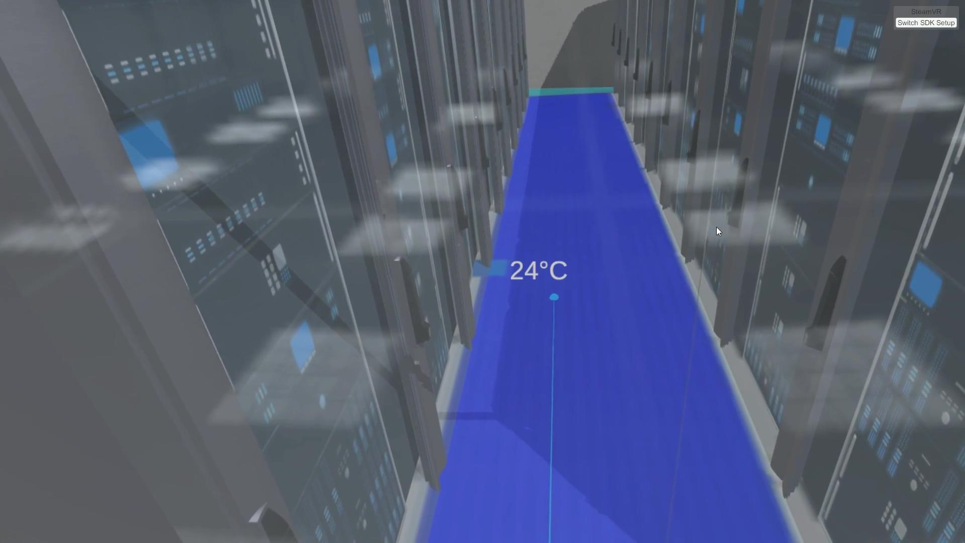 Digitale Rechenzentrumsplanung VR-Brille