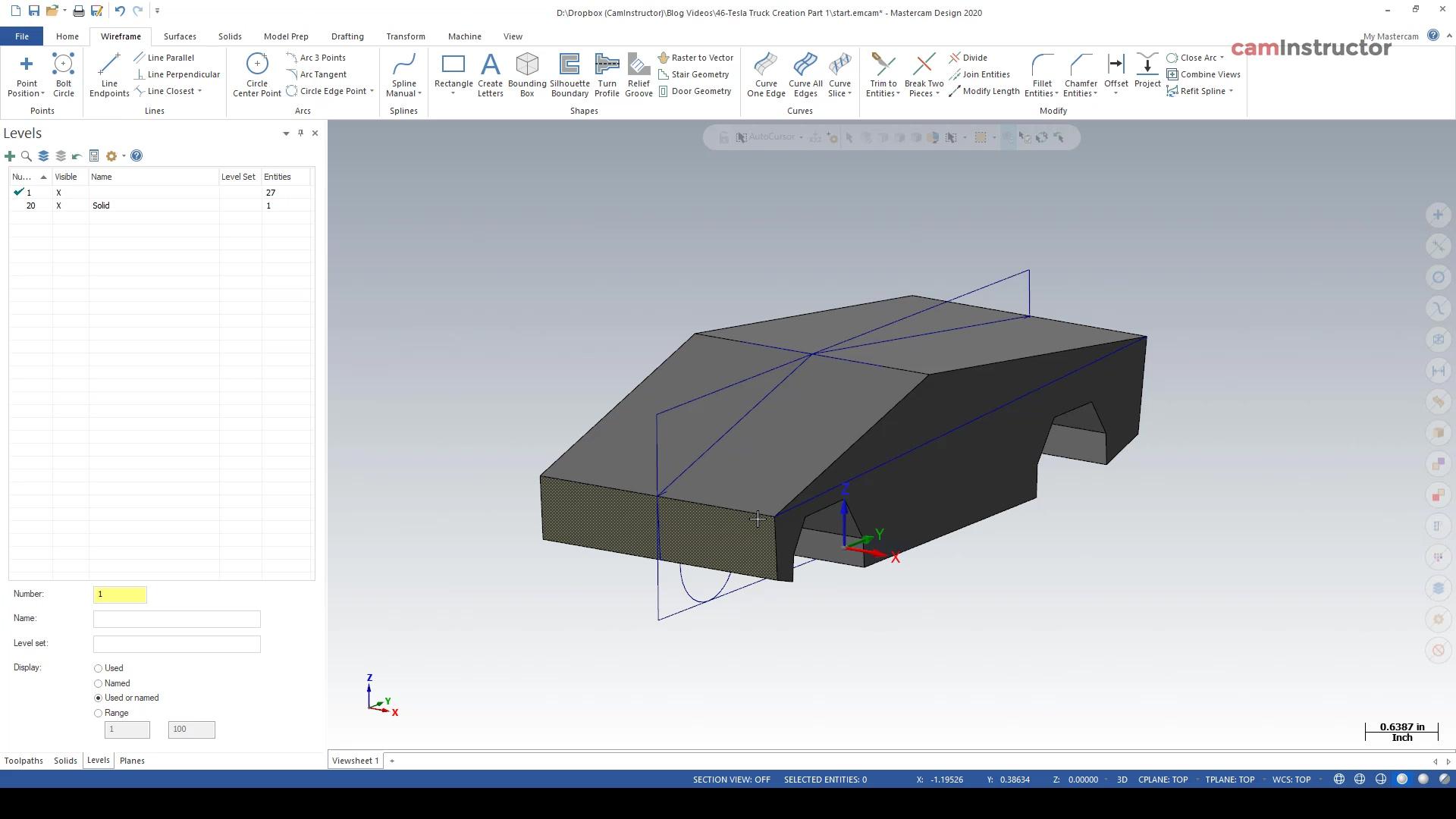Tesla Truck Creation Part 2