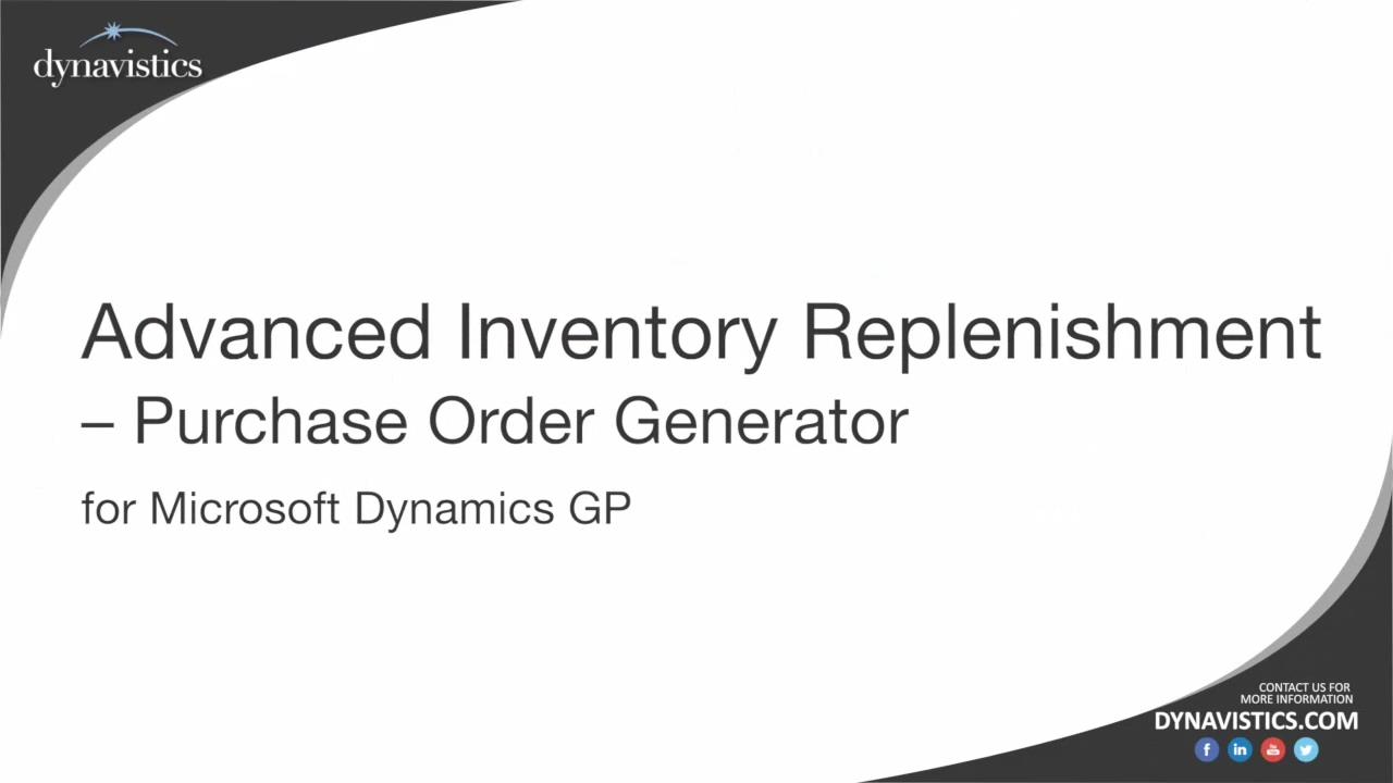 Advanced Inventory Replenishment_ Concepts