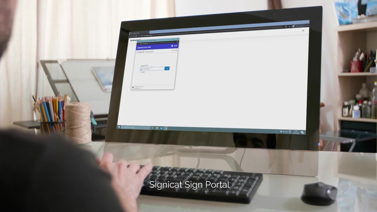 Electronic signing with BankID, NemID & Mobiilivarmenne _ Signicat Sign Portal