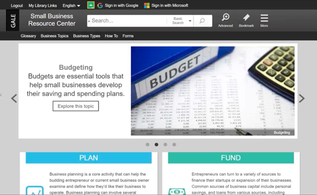 Small Business Resource Center Webinar Thumbnail