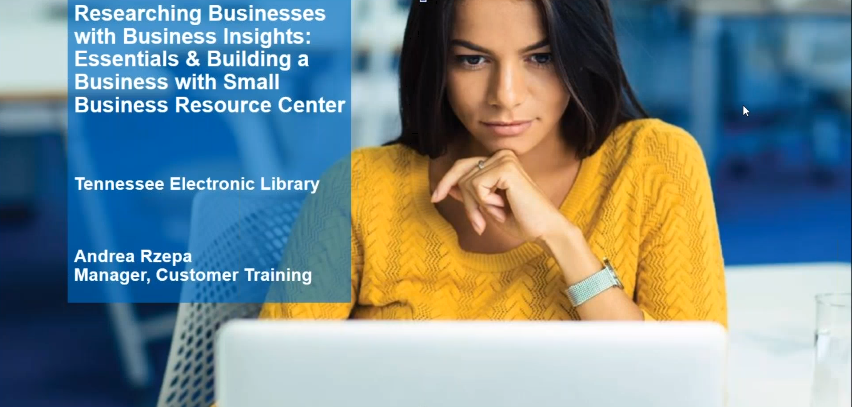 Researching Businesses with Business Insights: Essentials and Building a Business with Small Business Resource Center Thumbnail