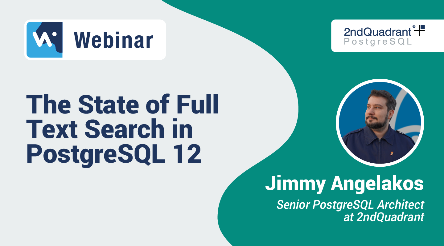 The State of Full Text Search in PostgreSQL 12_Hubspot