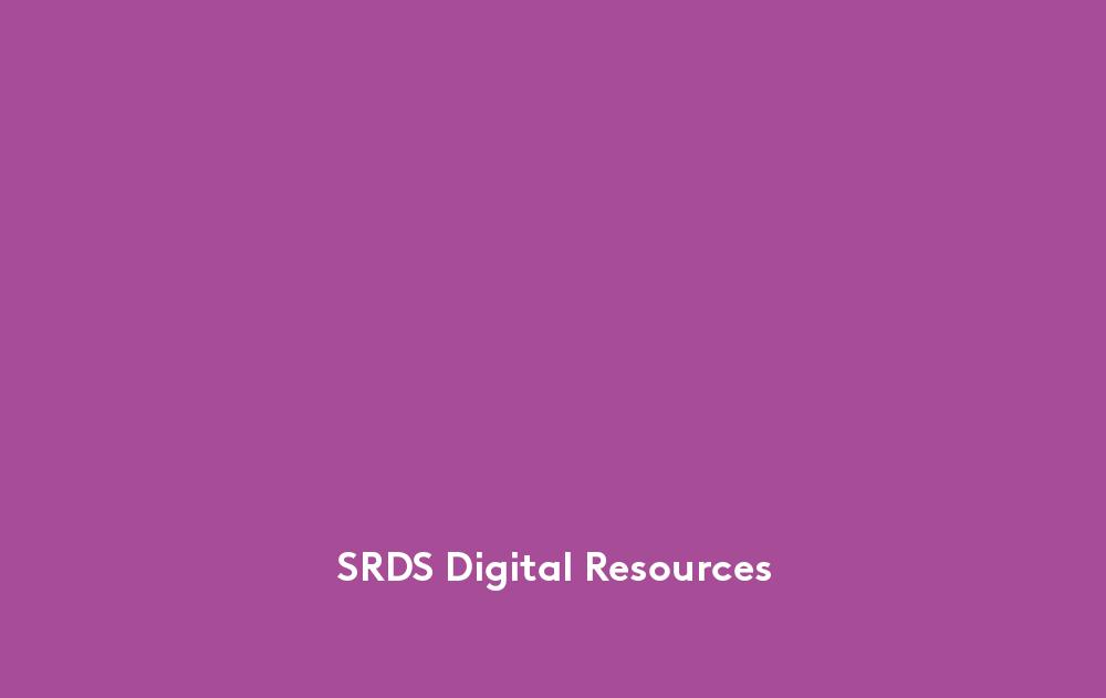 SRDS_DigitalResources