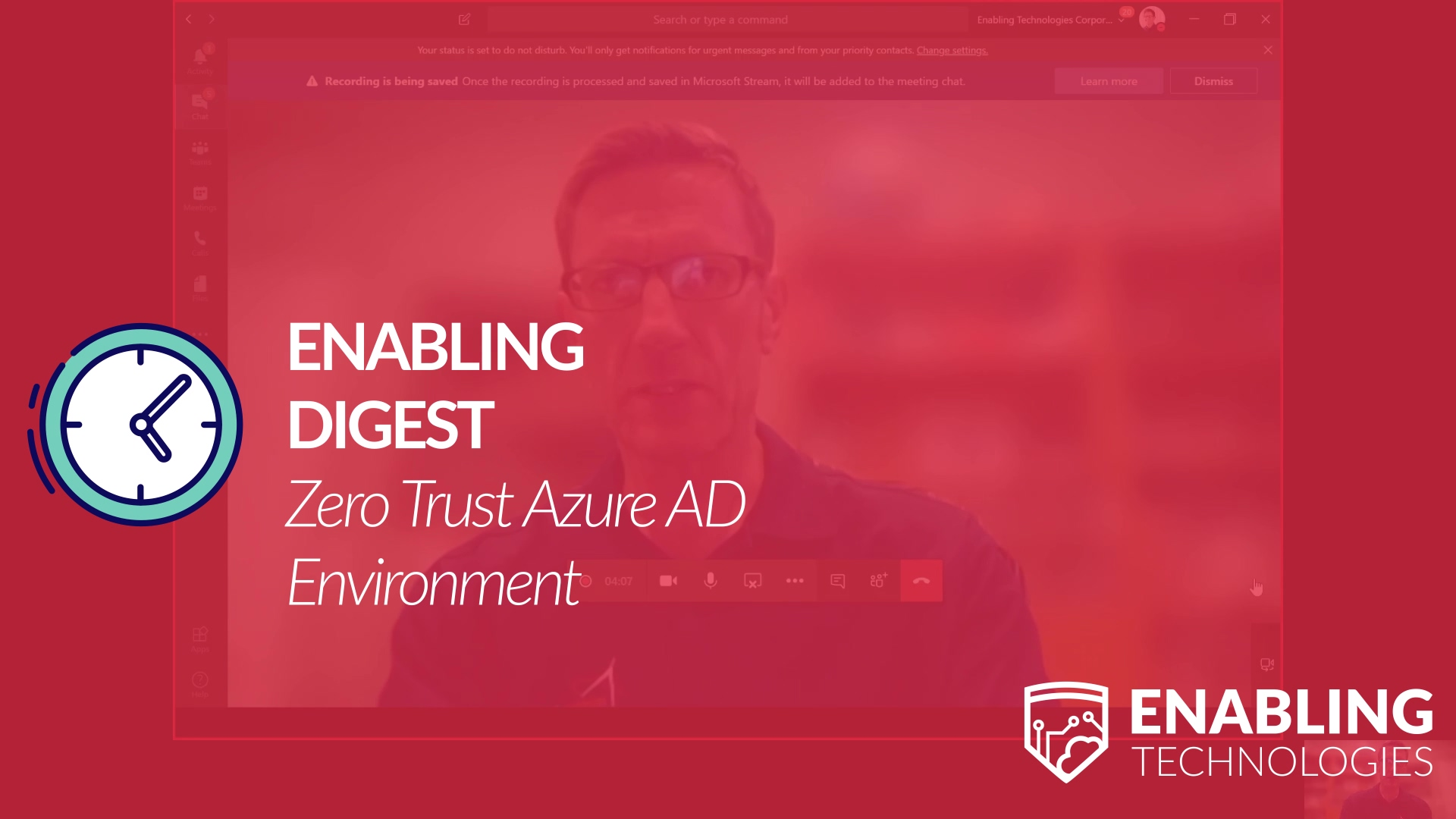 Enabling Digest - Zero Trust Azure AD