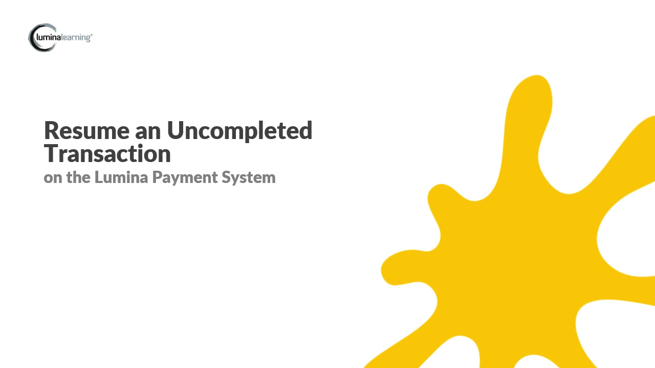 Resume an uncompleted transaction - New Payment System SYSTEM GUIDE - Copy (9)