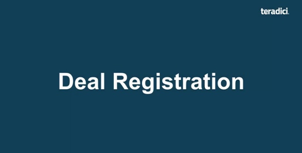Deal Registration How To