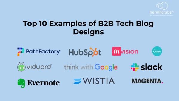 Top 10 Examples of  B2B Tech Blog Designs-1