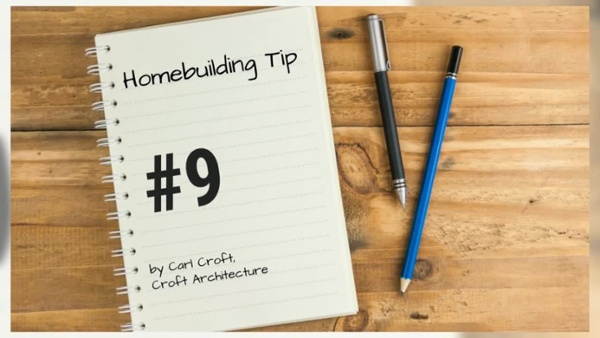12 Tips of Christmas for Ho Ho Homebuilding. Tip #9HD
