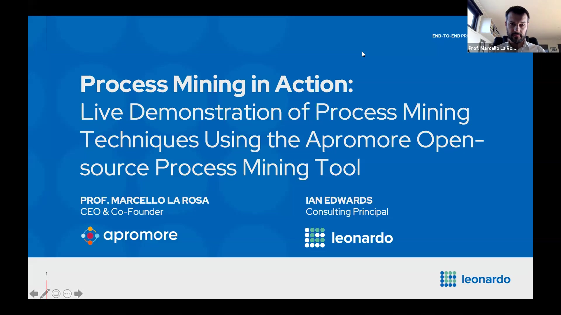 Webinar - Process Mining In Action
