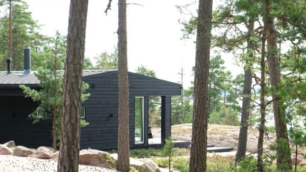 Arkkitehdin suunnittelema vapaa-ajan asunto Porvoossa-YouTube