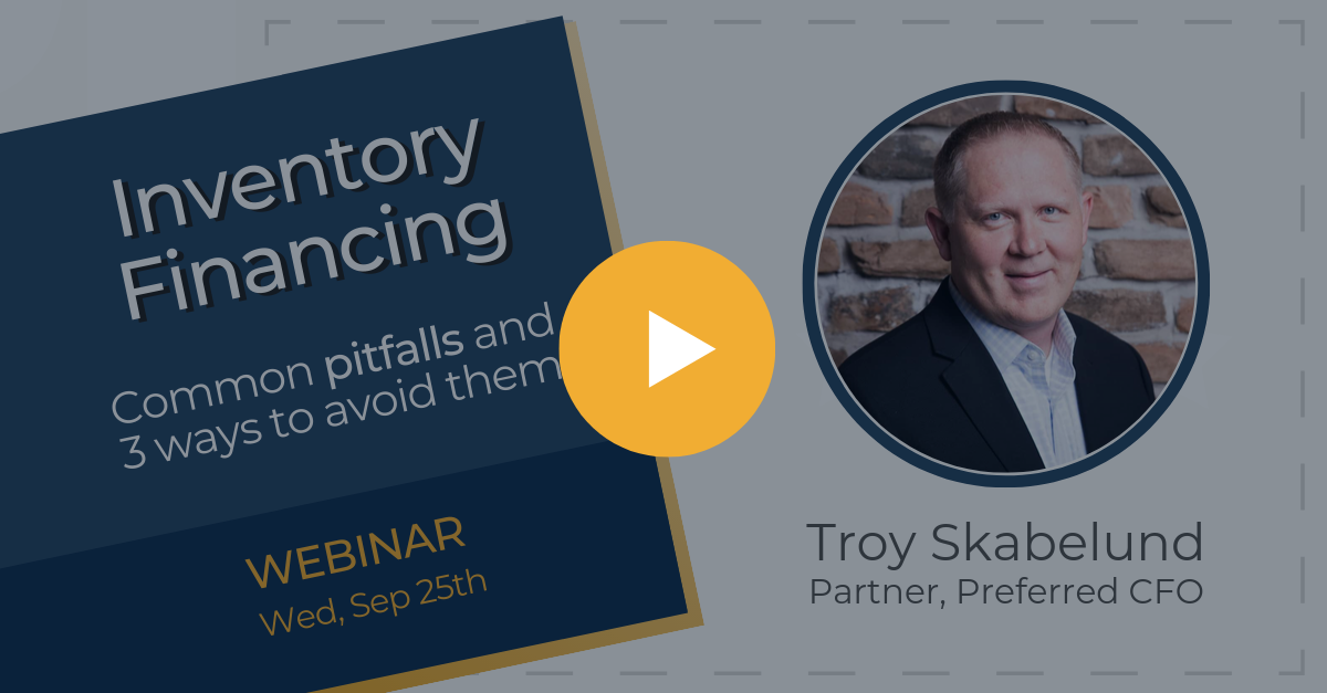 Inventory Financing - Executive Webinar 25 Sep 2019