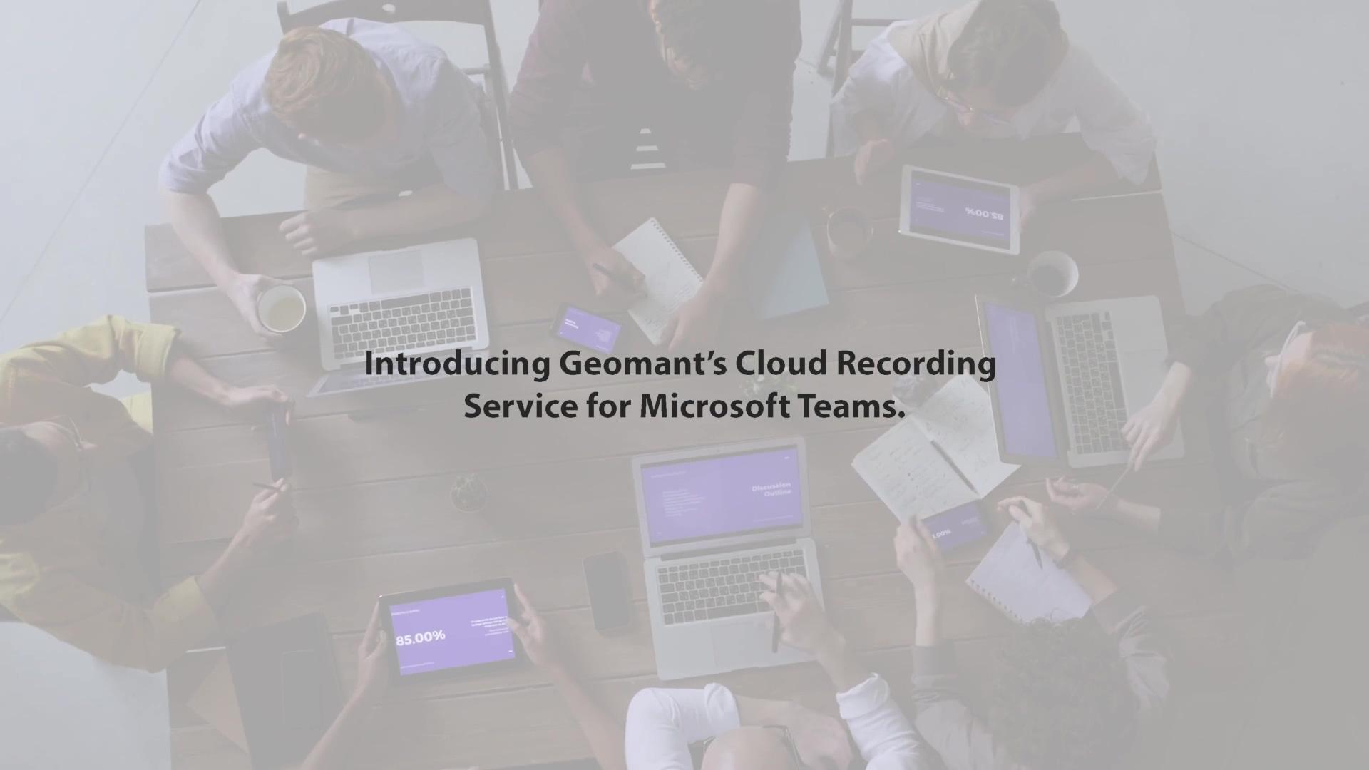 Geomant Cloud Recording Final