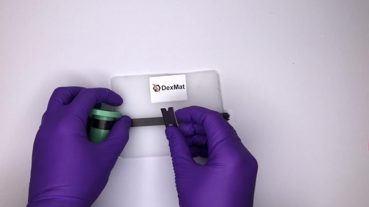 Cutting a Carbon Nanotube Film