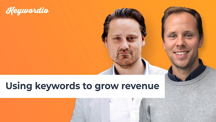 14. Using keywords to grow revenue