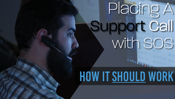 Placing a Support Call