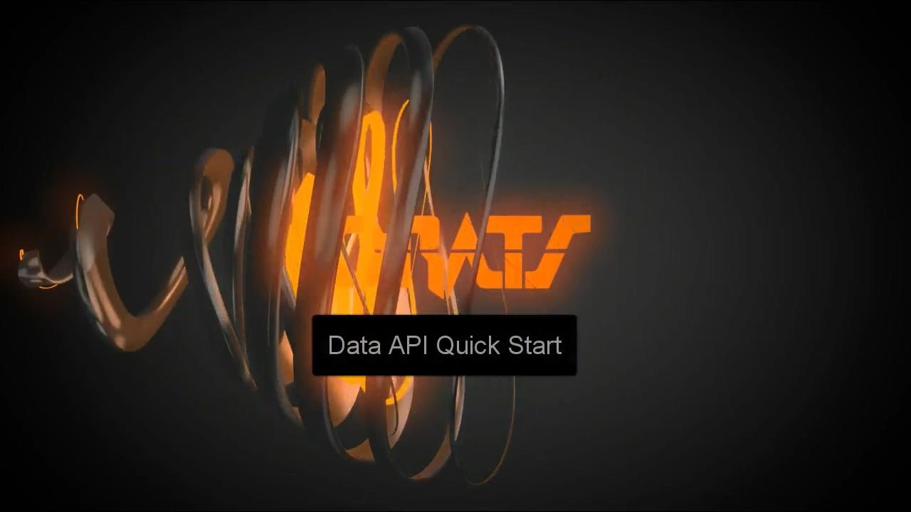 Data API Quick Start
