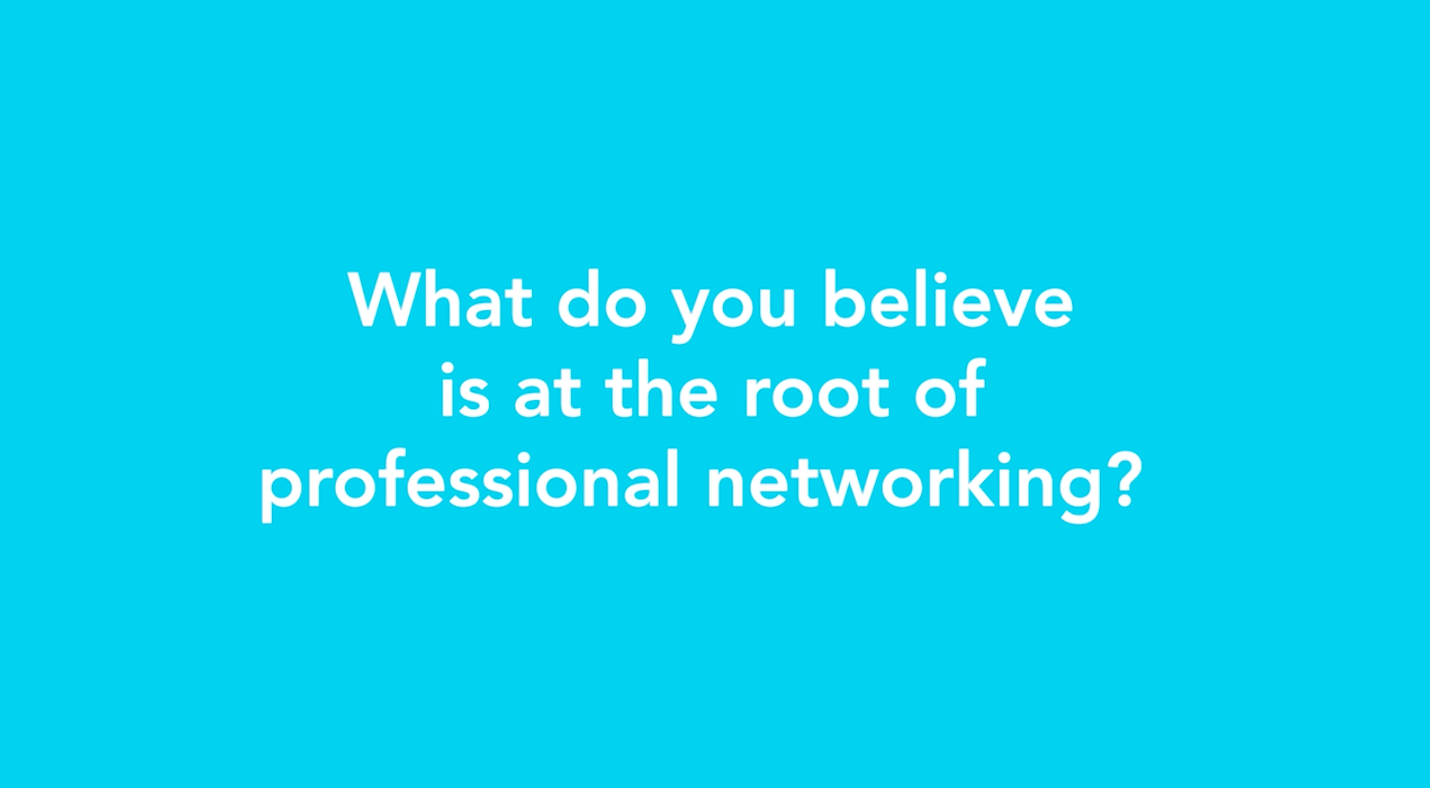 4.25.19 Root of Professional Networking