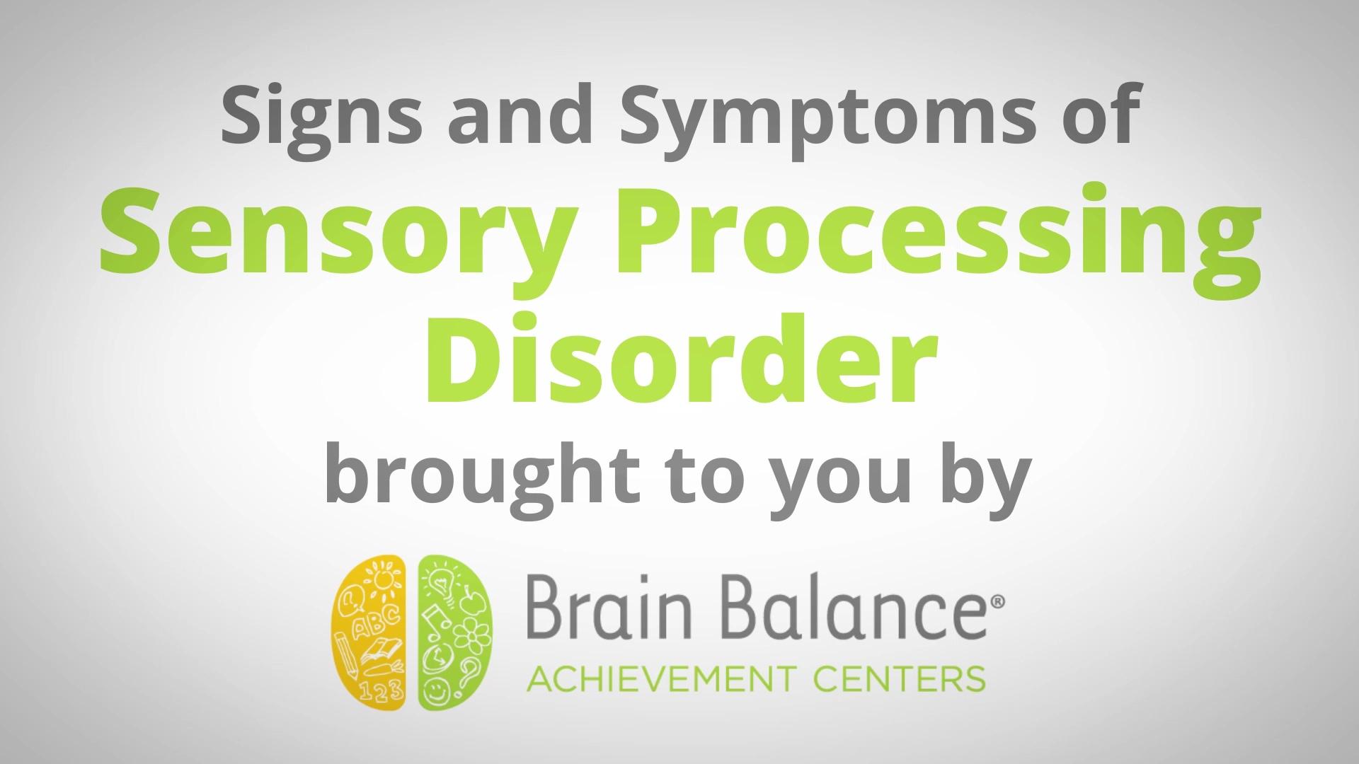 Brain Balance Achievement Centers — SPD v2
