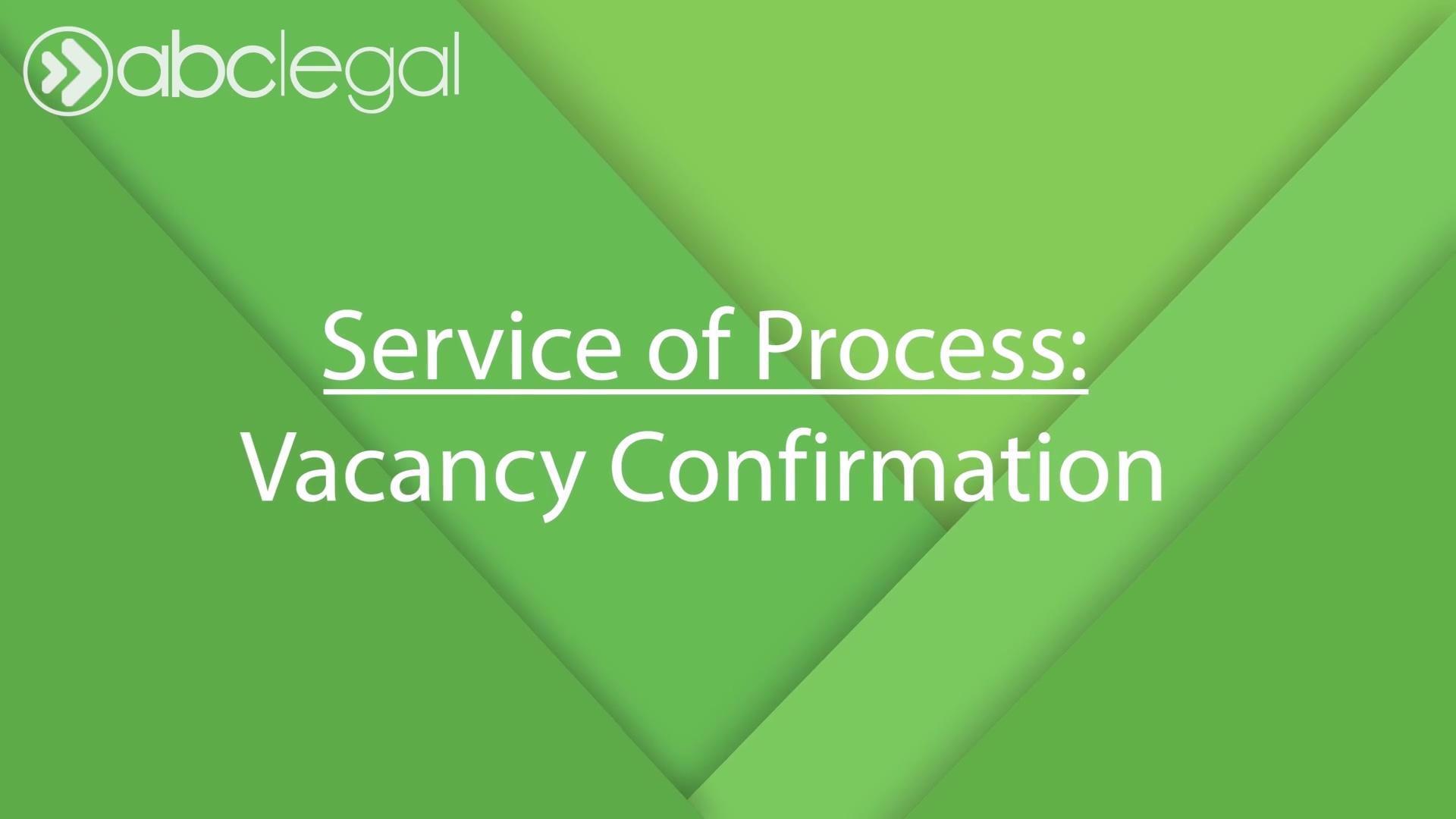 Vacancy Confirmation Final Cut 2