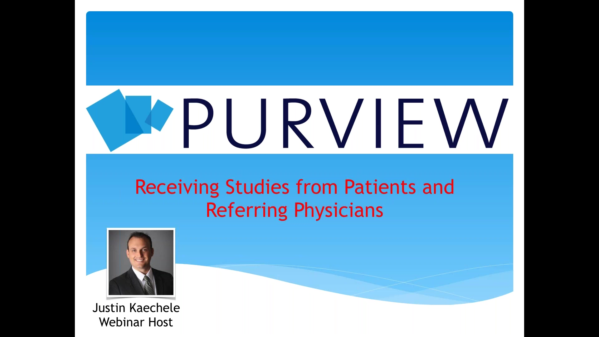 Micro Webinar Series- Receiving Studies from Patients and Referring Physicians