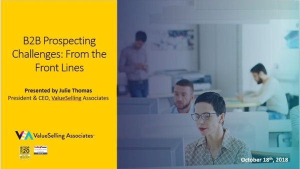 From the Front Lines_ B2B Prospecting Challenges