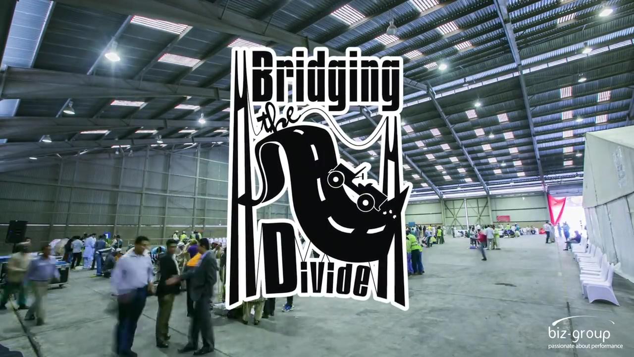 Bridging The Divide Teambuilding Event