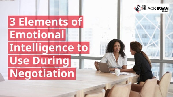 Video #3 - 3 Elements of Emotional Intelligence