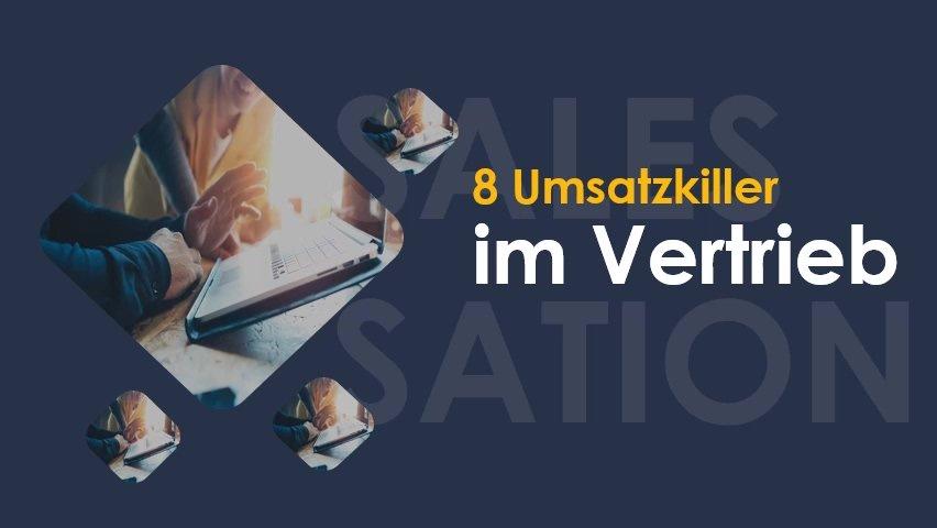 8 Umsatzkiller im Vertrieb-SalesSation