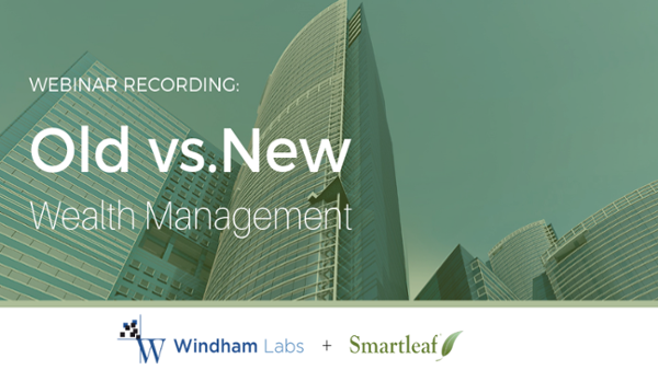 Old vs. New Wealth Management featuring Smartleaf CEO, Jerry Michael