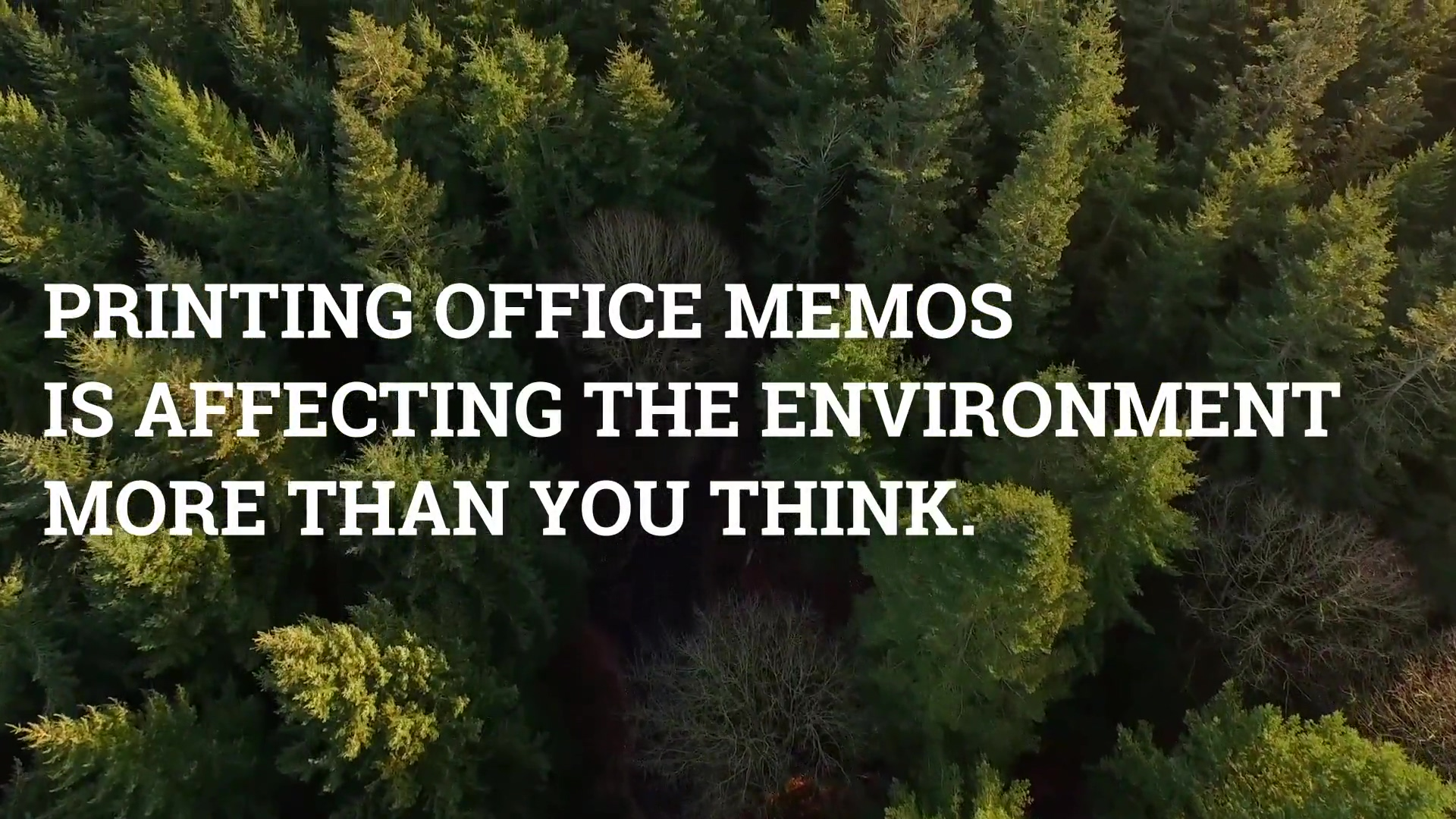 Environment - Managed Print Facts