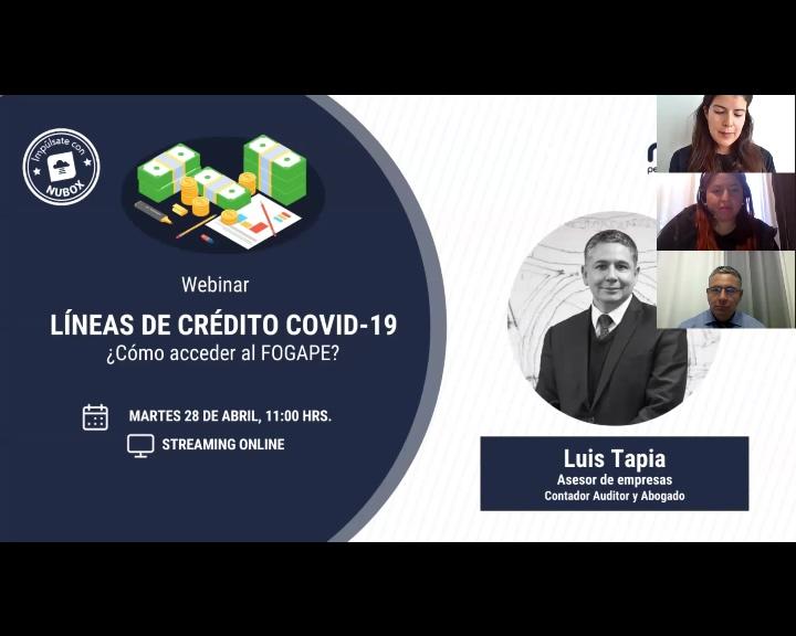 Lineas de crédito covid 19