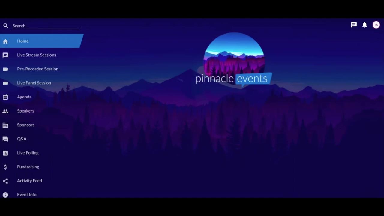 Virtual Event Web App