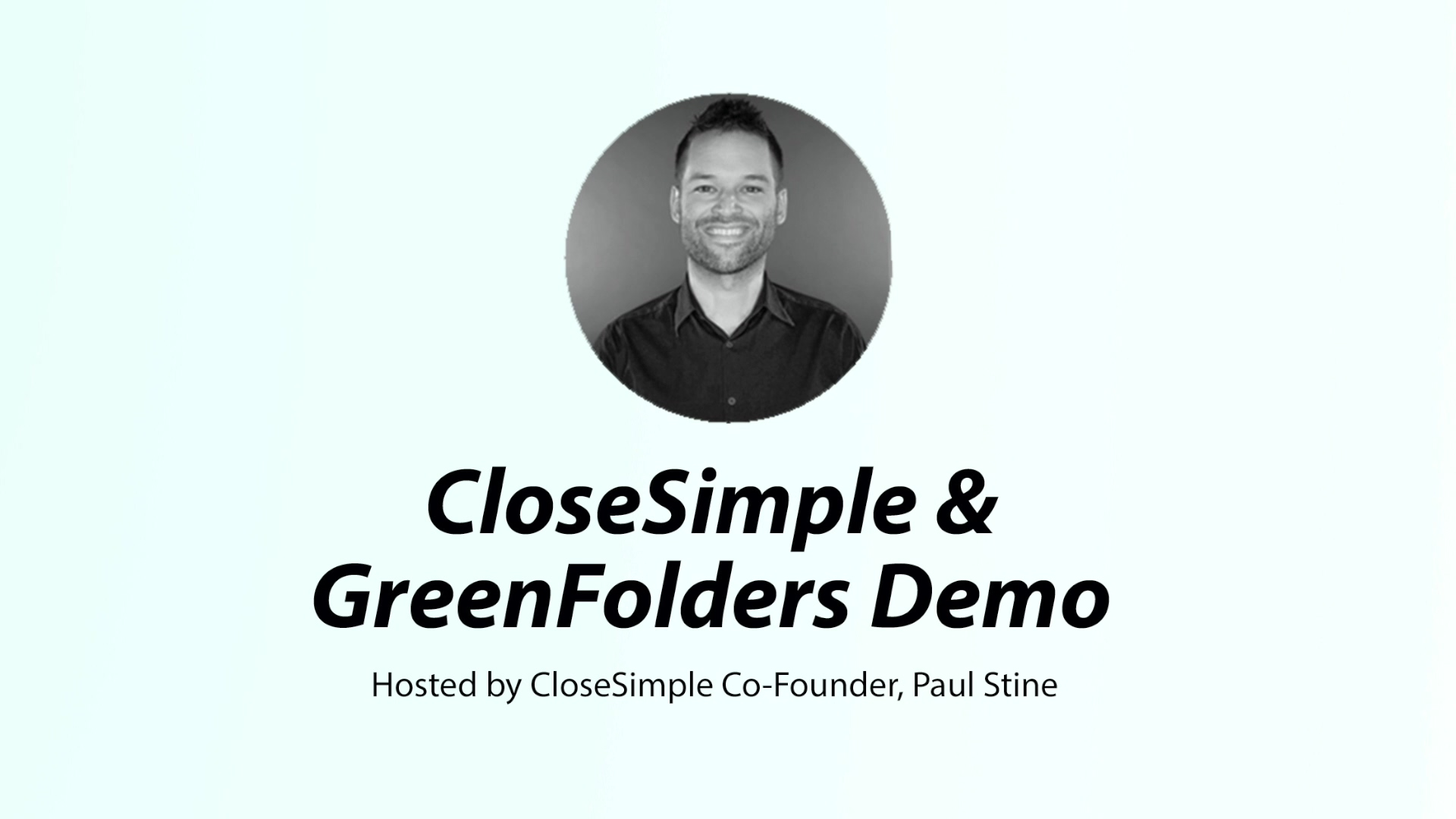GreenFolders Webinar