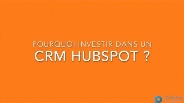Présentation CRM HUBSPOT