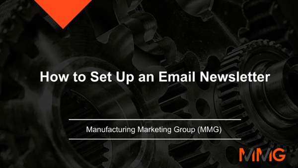 How to Set Up an Email Newsletter